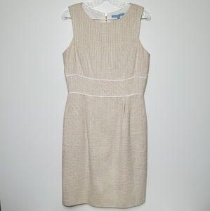 Antonio Melani 8 Tweed Sleeveless Sheath Dress